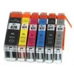 CLI671XL GY Grey High Capacity Ink