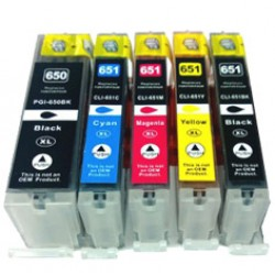 Compatible Canon PGI-650PGBK XL Ink Cartridge