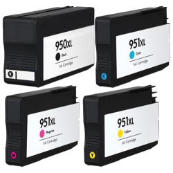 HP950XL HP 950 XL 951XL 951 Black / Cyan / Magenta / Yellow ink cartridge